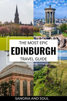 Europe Destinations, Europe Travel Tips, European Travel, Places To Travel, Amazing Destinations, Edinburgh Travel, Visit Edinburgh, Edinburgh Castle, Edinburgh Scotland