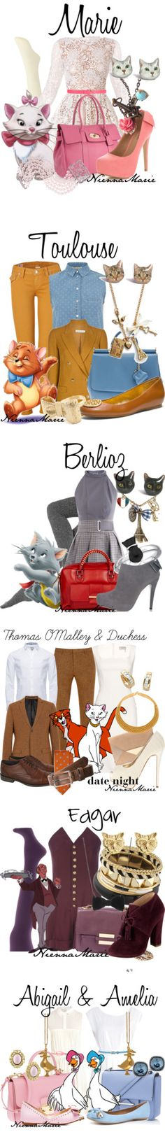 """""""The Aristocats"""" by niennamarie ❤ liked on Polyvore"""