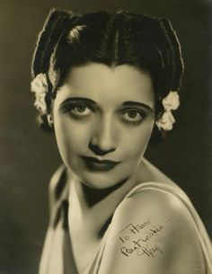 Kay Francis (January 13, 1905 – August 26, 1968) was an American stage and film actress. After a brief period on Broadway in the late 1920s, she moved to film and achieved her greatest success between 1930 and 1936, when she was the number one female star at the Warner Brothers studio, and the highest-paid American film actress