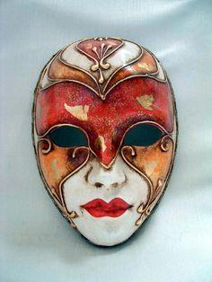 Volto Masks - Handmade Venetian Masks from Venice, Italy - 1001 Venetian Masks