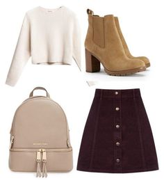 Michael Kors OFF!>> A fashion look from November 2015 featuring Oasis mini skirts Tory Burch ankle booties and MICHAEL Michael Kors backpacks. Browse and shop related looks. Casual Outfits, Cute Outfits, Fashion Outfits, Girl Fashion, Movie Inspired Outfits, Lara Jean, Street Looks, Fashion Looks, Teenage Outfits