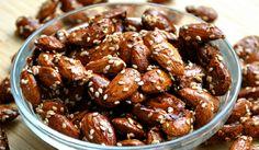 Obalované ořechy v jogurtu, wasabi, medu, koření a další