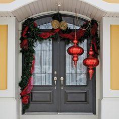 Façade de Noël charmante et élégante - Inspirations - Décoration et rénovation - Pratico Pratiques