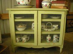 A repurposed dresser