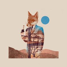 """Theif"" by Mark.Weaver. Loosely inspired by Wes Anderson's take on Fantastic Mr. Fox."