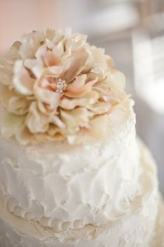 i love the buttercream frosting on this