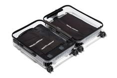 The Off-White x Rimowa transparent suitcase is clearly TSA-Friendly! German luggage maker Rimowa unveiled its next limited edition with Virgil Abloh's Off-White label.