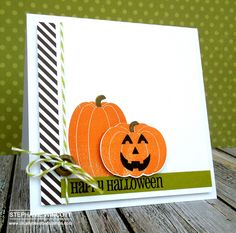 Thursday, August 14 Stamping & Sharing: Halloween in August!! Fall Fest