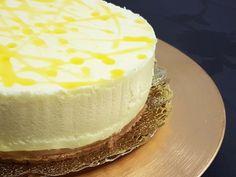 tarta-de-limon-sin-azucar-zoom Diabetic Cake, Diabetic Recipes, Cheesecake, Cure Diabetes Naturally, Pie Cake, Sugar Free Recipes, Sin Gluten, Healthy Desserts, Healthy Food