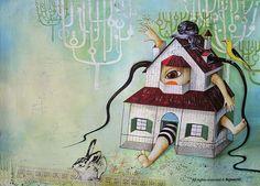 Glenda Sburelin   Alice in Wonderland
