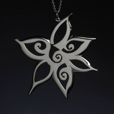 Image of Columbine Flower Necklace Kathryn Cole