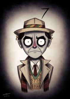 Doctor Who by Tim Burton - The #7 Doctor