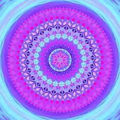 Štěstí | Mandala na každý den Mandala Art, Symbols, Inspire, Outdoor Decor, Inspiration, Biblical Inspiration, Inspirational, Glyphs, Inhalation