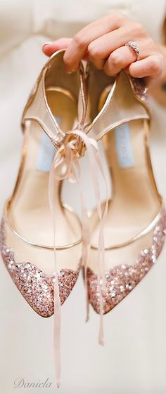 ***LOVE these shoes, maybe they would match the blush coloring of my dress.