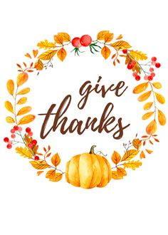 Free Thanksgiving Printable - Spruce up your Thanksgiving decor with this Give Thanks free printable! Would make a beautiful addition to any Thanksgiving tablescape Thanksgiving Prints, Free Thanksgiving Printables, Thanksgiving Pictures, Thanksgiving Blessings, Thanksgiving Diy, Thanksgiving Tablescapes, Thanksgiving Decorations, Free Printables, Holiday Decorations
