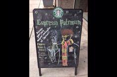 Expresso Patronum!!!!! Amazing!!!