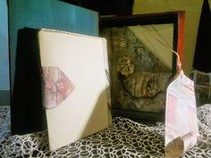 wooden photo album, aging, clay elements, scrapbook Mixed Media Collage, Clay, Scrapbook, Album, Artwork, Painting, Clays, Work Of Art, Auguste Rodin Artwork
