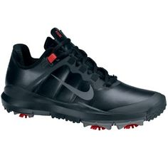 Nike TW 13 Men's Golf Shoes - Black.. one of the most popular shoes of the year!