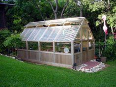 Wood/corrugated plastic greenhouse                                                                                                                                                                                 More