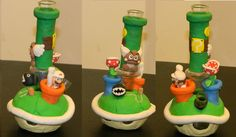 Super mario themed bong