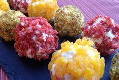 Bolitas de queso de colores | Blog de BabyCenter por @Verónica Sartori Cervera