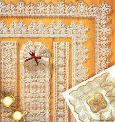 Lots of lace. Crochet lace. Scheme (1) (657x700, 571Kb)