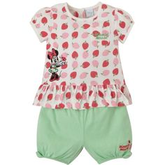 Girls Minnie Mouse Top ❤ liked on Polyvore featuring baby, baby girl and kids clothes