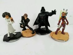 lot of Star Wars Disney Infinity 3.0 Leia Darth Vadar Luke Skywalker Ahsoka Tano | Video Games & Consoles, Video Game Accessories, Toys to Life | eBay!