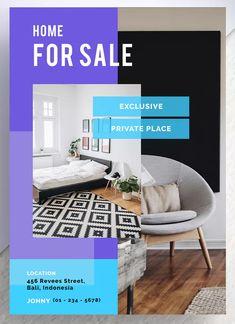 Pekutan Professional Real Estate Flyer by letterhend on Envato Elements Real Estate Templates, Real Estate Flyer Template, Simple Powerpoint Templates, Flyer Design Templates, Real Estate Flyers, Creative Design, Design Trends, A4, Banner