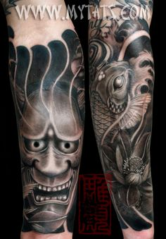 #hannya #koi #tattoo