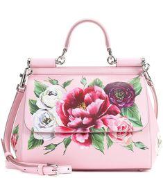 Dolce & Gabbana - Sicily Medium leather shoulder bag   mytheresa.com