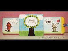 ▶ Double Slider Birthday Card! - YouTube