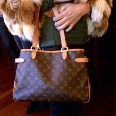 2aec03bea1a The Louis Vuitton Batignolles Monogram Horizontal Handbag Tote is a top 10  member favorite on Tradesy.