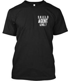 AGENTS OF S.H.I.E.L.D LEVEL 7   Teespring