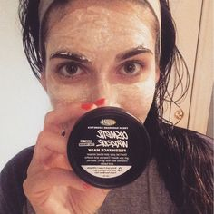 My lush obsession continues. Oh cosmetic warrior how I love thee.  @lushcosmetics #lushmask #cosmeticwarrior #handmade #keepinfridge #nolaelliffe #igdaily #pampernight #saturdaychill