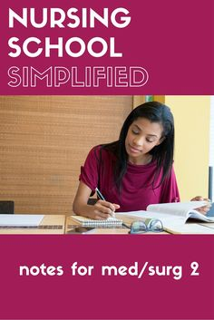 II Amazing nursing study guides and notes for Advanced Med/Surg.Amazing nursing study guides and notes for Advanced Med/Surg. College Nursing, Online Nursing Schools, Nursing School Notes, Nursing Career, Nursing Major, Nursing Profession, Nursing Party, Nursing Exam, College Hacks