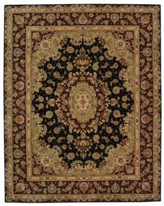 Amazon.com: Safavieh Rugs Persian Court Collection PC119A-2 Black/Red 2' x 3' Accent: Furniture & Decor