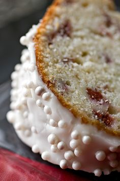 Cherry-Almond Winter Cake