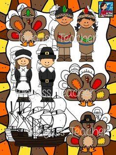 Thanksgiving Clipart Bundle