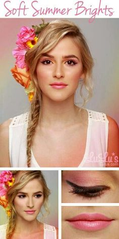 Do you want the best tips and tricks for doing summer makeup? Check out how to do your makeup before you go to the beach in our great beach makeup tutorial. Gorgeous Makeup, Pretty Makeup, Love Makeup, Makeup Tips, Makeup Looks, Hair Makeup, Bright Makeup, Makeup Tutorials, Makeup Ideas