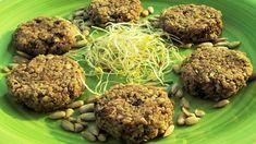 Biscotti crudisti ai semi di girasole e germogli di alfa alfa - Germogli di Soia Vegan