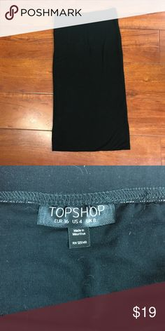 Topshop Black Maxi Skirt - 8 Topshop Black Maxi Skirt - 8  Still in great condition Topshop Skirts Maxi