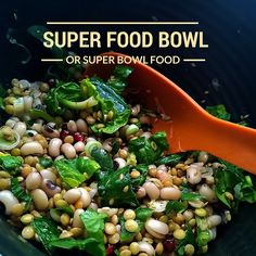 A superfood bowl high in proteins and rich in fiber that will fill you up for the rest of the day.