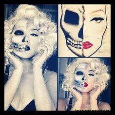 halloween-face-paint-skeleton