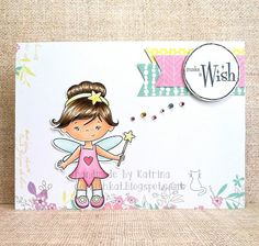 Katrina's Crafting Blog: using the Fairy set and papers from Prima