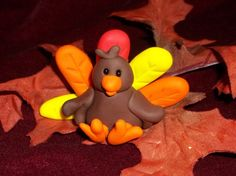 Another cute clay turkey