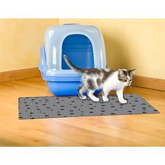 Drymate® Large Cat Litter Box Mat with Black Paw Print - BedBathandBeyond.com ... press escape or click anywhere to close?