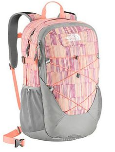 The North Face Women's Slingshot Backpack Twist Orange/Squiggle Print Design. http://www.zantoos.com/north-face-backpacks-free-shipping.html