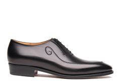J.M. Weston Men dress shoes Black Oxford 4