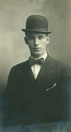 COSTUMES - [Bowler Hat] for the Stage Manager, Dr.Gibbs, and other men in the play that could use a hat.